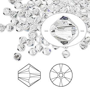 10 Swarovski ® Cristal Perles XILION Beads 6 mm Crystal copper Art 5328