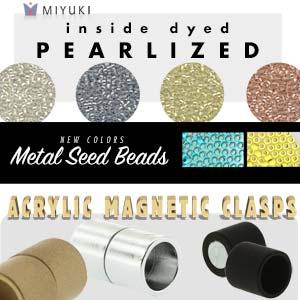 Miyuki Inside Dyed Pearlized Seed Beads - PRE ORDER