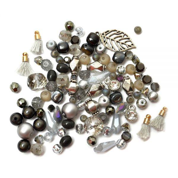 Jesse James, Mini Mix Beads, Earl Grey