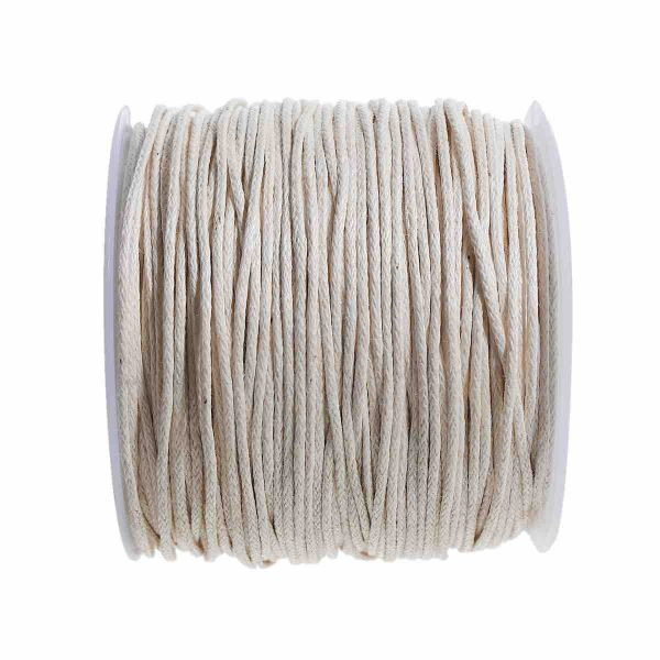 Cotton Cord Off White 1mm, approx 100 yards