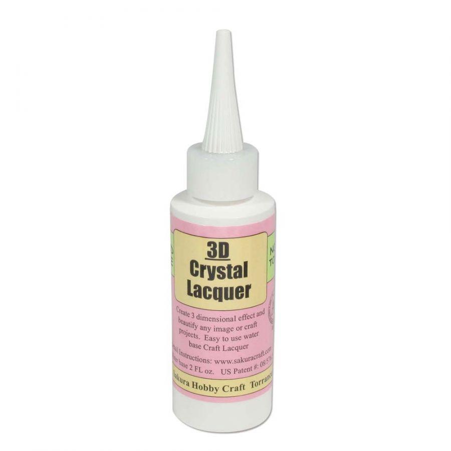 3-D Crystal Lacquer 2 oz bottle
