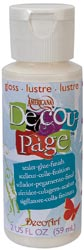 DecoArt Decoupage Glue 2oz Gloss,  59ml