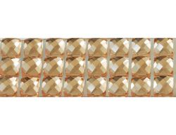 Resin Rhinestone Cabochons, Faceted Golden colour, approx 200pcs
