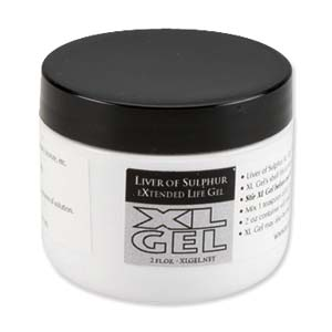 XL Gel Liver of Sulphur Gel, 2 oz