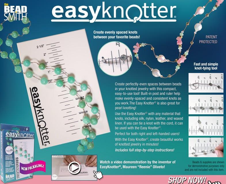 Easyknotter for jewellery making