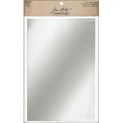 """Idea-Ology Adhesive Backed Mirrored Sheets 6""""X9"""" 2/Pkg"""