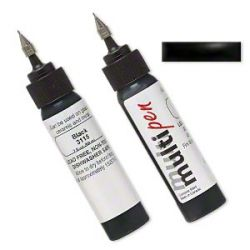 Multipen, enamel, black, 0.4mm applicator tip included. Sold per 2-fluid ounce bottle, 59mls