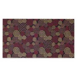 Paper, cotton fiber, multicolored, 11x6 inch rectangle with single-sided swirl design. Sold per pkg of 2 sheets.