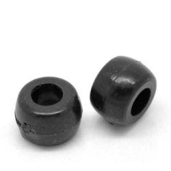 Black Pony Beads