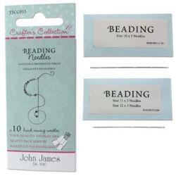 Beading Needles Assorted 10pcs - John James