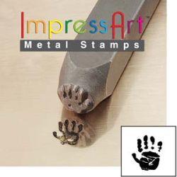 Impress Art - Hand Print Right 9.5mm Stamp