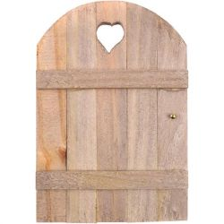 "Mini Garden Fairy Door 6""X4"", 1pc - Create your own Fairy House on a Tree"
