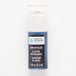 Jewellery glaze, black beetle clay. Sold per 1.1-fluid ounce bottle. - Martha Stewart