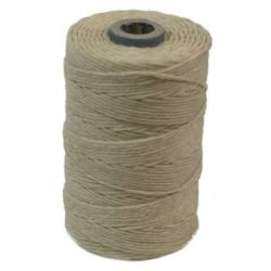 Irish Waxed Linen Natural 4ply 100 yards
