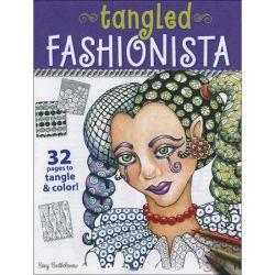 Tangled Fashionista - Design Originals - Adult Colouring Book