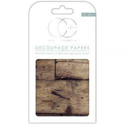 "Decoupage Papers  - Oak Top, 13.75""X15.75"" 3/Pkg"
