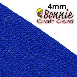 Macrame Cord - Bonnie Cords Royal 4mm 50 yards