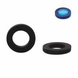 Open Back Sandalwood Pendant, Round Design, 21mm, 1pc - for UV Resin