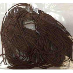 Nylon Beading Thread  .5mm, 10 metres Brown