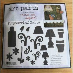 Art Parts Studio 49, Potpourri Of Parts, - Wendy Vecchi Art Parts