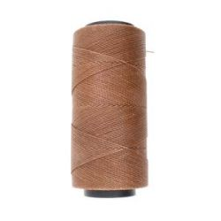 Knot it Waxed Poly Cord 2ply (1mm) - Cinnamon 144 metres - Beadsmith