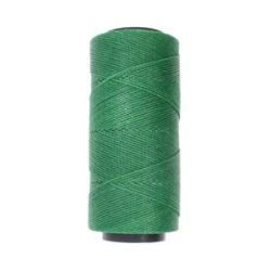 Knot it Waxed Poly Cord 2ply (1mm) - Forest Green 144 metres - Beadsmith