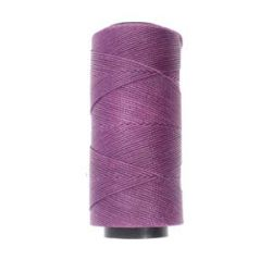 Knot it Waxed Poly Cord 2ply (1mm) - Grape 144 metres - Beadsmith
