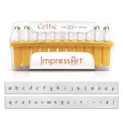 ImpressArt 3mm Celtic Lowercase 1 Set