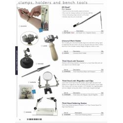 Clamps, Holders and Bench Tools page 1  - PRE ORDER