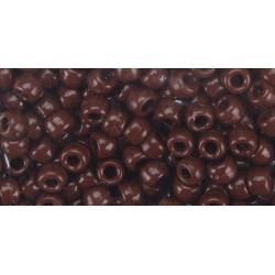 Pony Beads Brown - opaque, 9mm, 720pcs