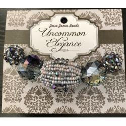 Uncommon Elegance Beads 5/Pkg - Style 13