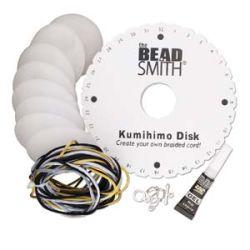 Beadsmith Kumihimo - Small Starter Kit - Round Disc