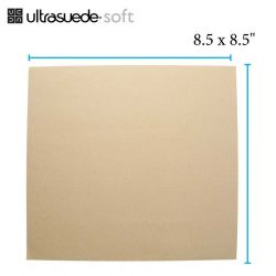 Ultrasuede, Chamois,  8.5 x 8.5 inches, 1 sheet