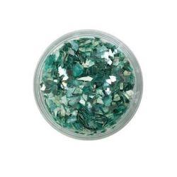 Ice Resin Glass Glitter Shards, Wintergreen, 13grams