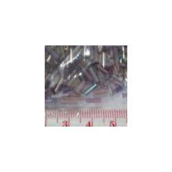 Bugle Beads,  6mm, Plum Rainbow, 25 grams