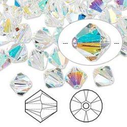 Swarovski Crystal 8mm, Crystal Ab 12 pcs, 5328