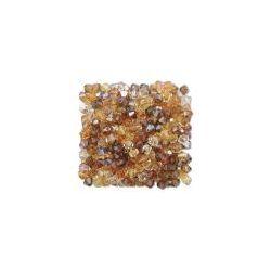 Swarovski Bicone Crystal 8mm, Wheatberry mix, 36 pcs, 5301