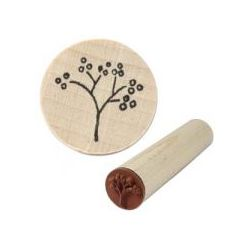 Rubber Stamp Block, 1/2inch, Berry Branch mini