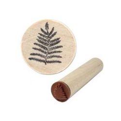 Rubber Stamp Block, 1/2inch, Fern Leaf mini