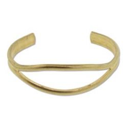 Brass Beading Cuff