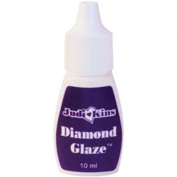 Diamond Glaze, dimensional 3d adhesive, 10ml Squeeze Bottle by Judikins - Handy!