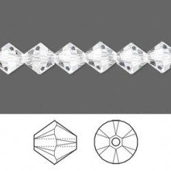 Swarovski Bicone Crystal 8mm, Crystal 12 pcs, 5328