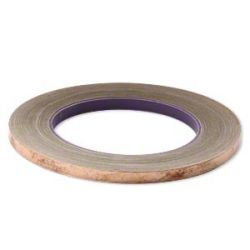 Metal Foil Tape, 7mm wide and 1mm thick, 36 yards -Copper
