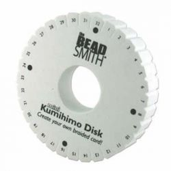 Kumihimo Loom Disc, 4.5inch round - 35mm Hole  - NEW - Beadsmith