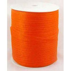 Organza Ribbon, 6mm, Dark Orange, 10 metres