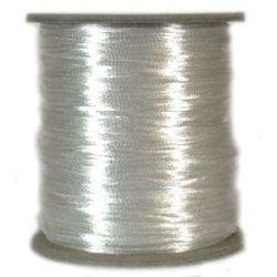 Rattail Satin Cord 3mm White 4 metres