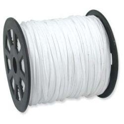 Ultra Micro Fibre Suede 3mm White, 5 metres, A Grade