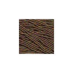 Czech Seed Beads 6/0 Dark Bronze. 6 strands