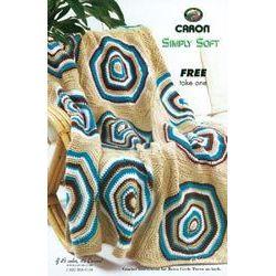 Crochet Round  Rug Pattern Leaflet