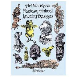 Art Nouveau Fantasy Animal Jewelry Designs - B. Krieger